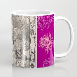 Roses & Girl riding a horse Coffee Mug