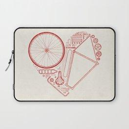 Love Bike Laptop Sleeve