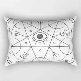 The Eye of the White Witch Rectangular Pillow