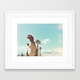 dino daze Framed Art Print