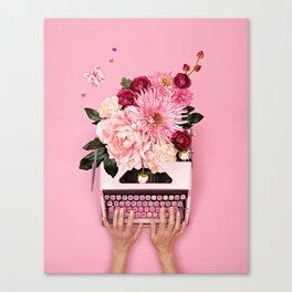 Love Letter Canvas Print