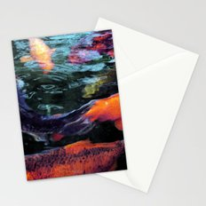 Koi trouts Stationery Cards