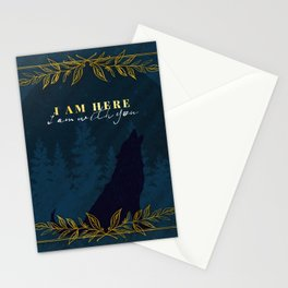 I Am Here (Kingdom of Ash) Stationery Cards