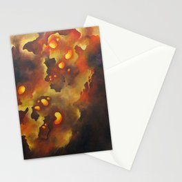 Biomorphic Untitled 3 Stationery Cards