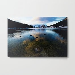 Lake Misurina Metal Print