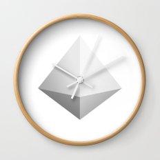Mountain Icon Wall Clock