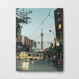 A Night In Toronto Metal Print