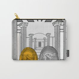 Necropolis Coins Gold and Silver Carry-All Pouch