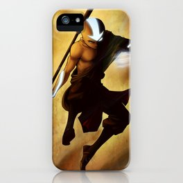 Aang avatar state iPhone Case