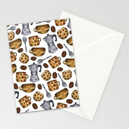 Coffee Break - it's Fika Time! Stationery Cards