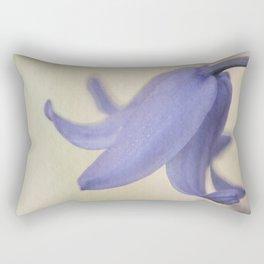 Spanish Bluebell Flower Rectangular Pillow