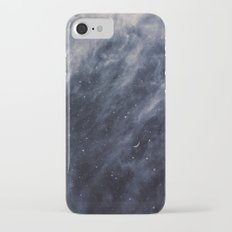 Blue Clouds, Blue Moon iPhone 7 Slim Case