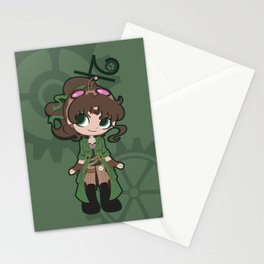 Steampunk Sailor Jupiter Stationery Cards