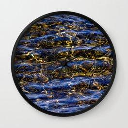 Subtle Swimmer Wall Clock