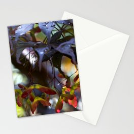 Japanese Maple Seeds III Stationery Cards