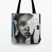 fka twigs Tote Bags featuring FKA TWIGS by nordacious