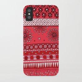 Yzor pattern 007-3 pink iPhone Case