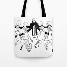 Ladies Man Tote Bag