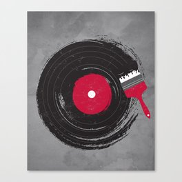 Art of Music Canvas Print