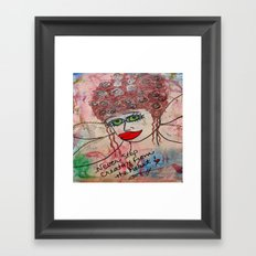 Fairy Art Mother Framed Art Print