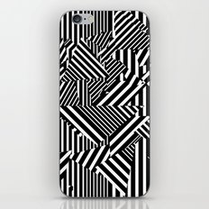 Dazzle Camo #01 - Black & White iPhone & iPod Skin