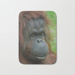 Female Orangutan Bath Mat