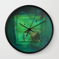 color abstract 5 Wall Clock