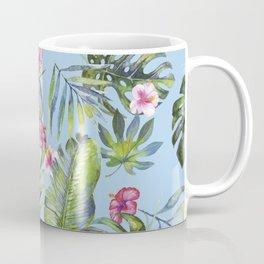 Palm Leaves Pattern 7 Coffee Mug