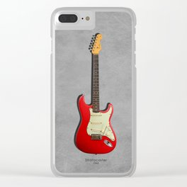 The 63 Stratocaster Clear iPhone Case