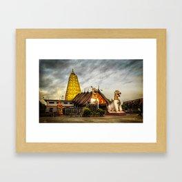 Wang Wiwekaram Temple Framed Art Print