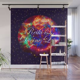 Reiki is Divine Love | The Energy it Flows | Going with the Flow Wall Mural