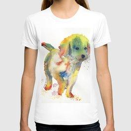 Colorful Puppy - Little Friend T-shirt