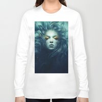 ink Long Sleeve T-shirts featuring Ink by Anna Dittmann