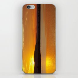 Sunset In The Village iPhone Skin