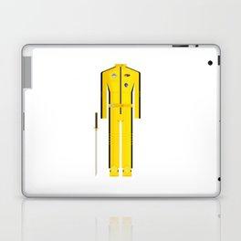 American Martial Arts Assassin Film Costume Minimal Sticker Laptop & iPad Skin