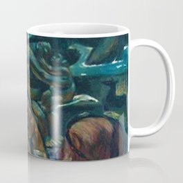 Classical Masterpiece 'Temascal II' by Jean Charlot Coffee Mug