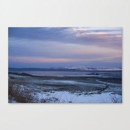 Above Mono Lake Canvas Print
