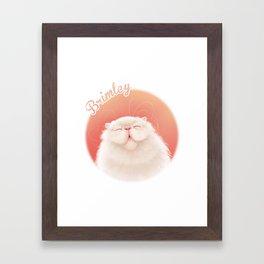 Brimley Smiling Framed Art Print