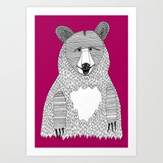 This bear Art Print