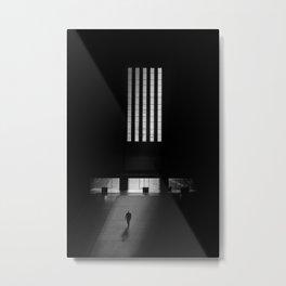 black white photo Metal Print