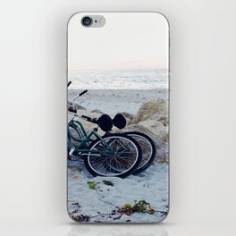 Captiva Island Bikes by Ocean iPhone Skin