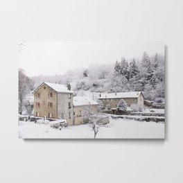 L'hiver! Metal Print