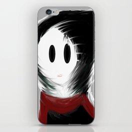 Gloomy Girl iPhone Skin