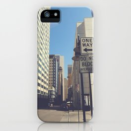 Akard Street iPhone Case