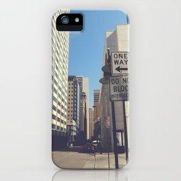 Akard Street iPhone Case