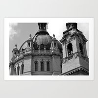 Cathedral of  St. Paul Art Print