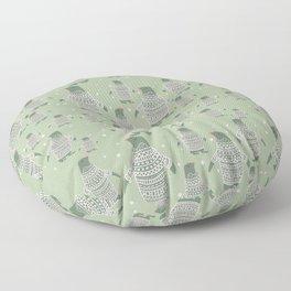 Penguin Christmas Floor Pillow