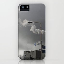 Wind & Smoke iPhone Case