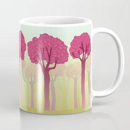 colorful forest with cute dwarf Coffee Mug