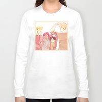 snk Long Sleeve T-shirts featuring SNK Buddies by rhymewithrachel